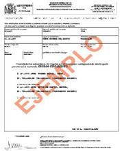 Ejemplo de certificado de Ultimas Voluntades